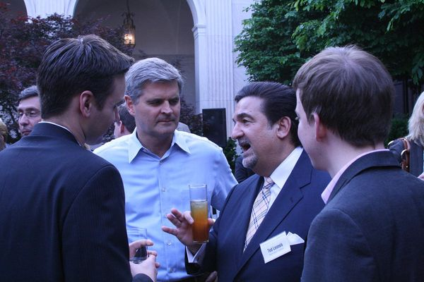 Frank Gruber, Steve Case, Ted Leonsis and Nick O'Neill