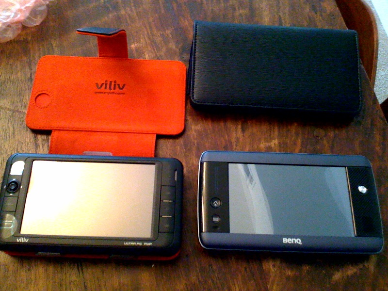 Viliv S5 & BenQ S6 Mobile Internet Devices