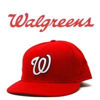 Walgreens and The Washington Nationals Logo