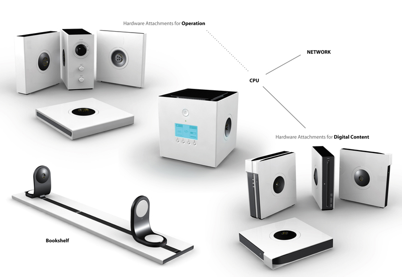 Last Month The Bookshelf PC Was Just A Concept Produced By Two Purdue University Industrial Designers To Win Microsofts Next Generation Design